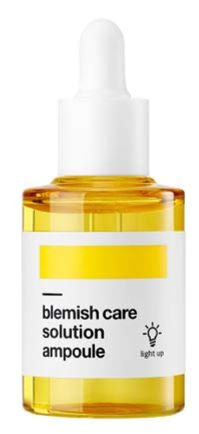 失手錠窒素[BELLAMONSTER] Blemish Care Solution ampoule 30mll / [ベラモンスター] ブレミッシュケアソリューションアンプル 30ml [並行輸入品]