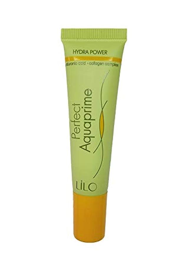 チーフナサニエル区塩LiLo | Primer Perfect Aquaprime | For All Types Skin | 20 gr with Hyaluronic Acid, Collagen Complex