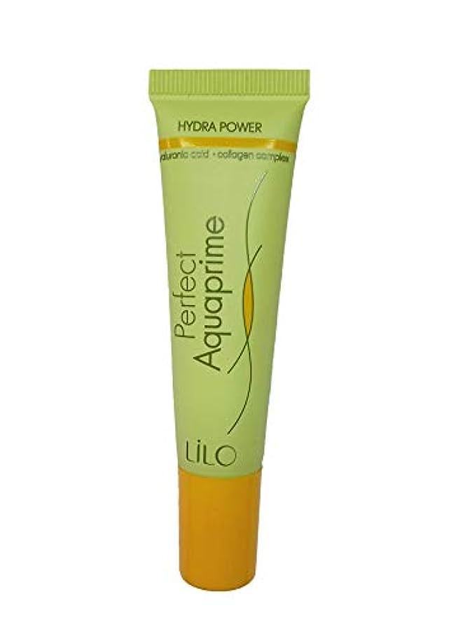 不純陽気な蒸気LiLo | Primer Perfect Aquaprime | For All Types Skin | 20 gr with Hyaluronic Acid, Collagen Complex