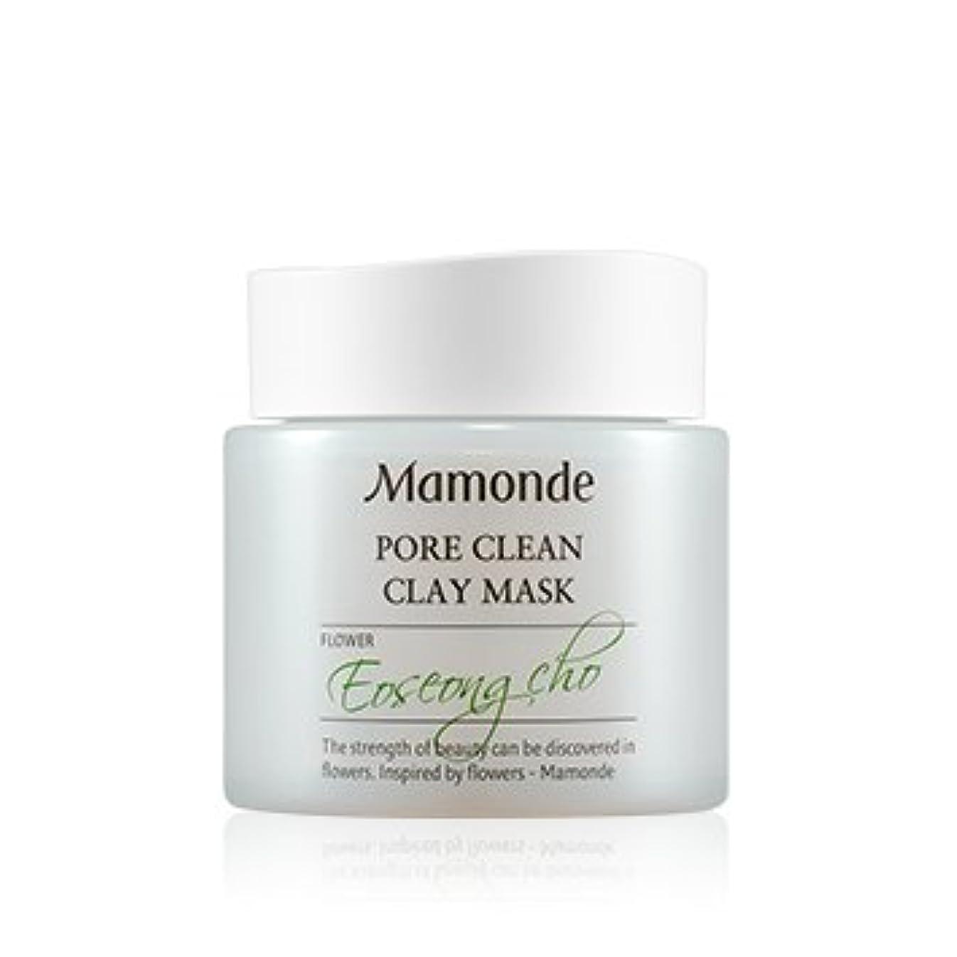 考古学的な主張公然と[New] Mamonde Pore Clean Clay Mask 100ml/マモンド ポア クリーン クレイ マスク 100ml [並行輸入品]