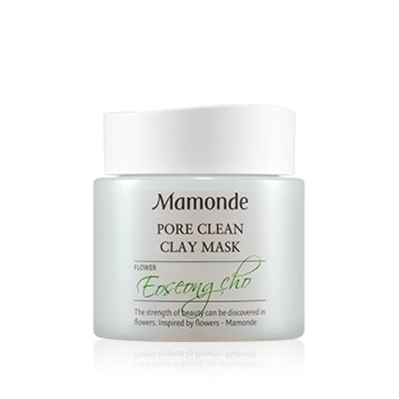 鹿持参アミューズ[New] Mamonde Pore Clean Clay Mask 100ml/マモンド ポア クリーン クレイ マスク 100ml [並行輸入品]
