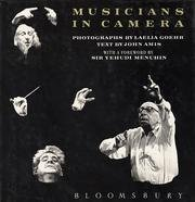 Musicians in Camera: Private View of World's Greatest Composers Conductors and Performers