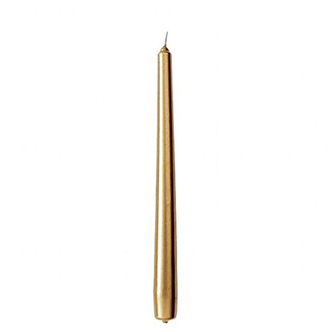 優雅なインストラクター合成カメヤマキャンドル(kameyama candle) 10インチテーパー 「 ゴールド 」 12本入り