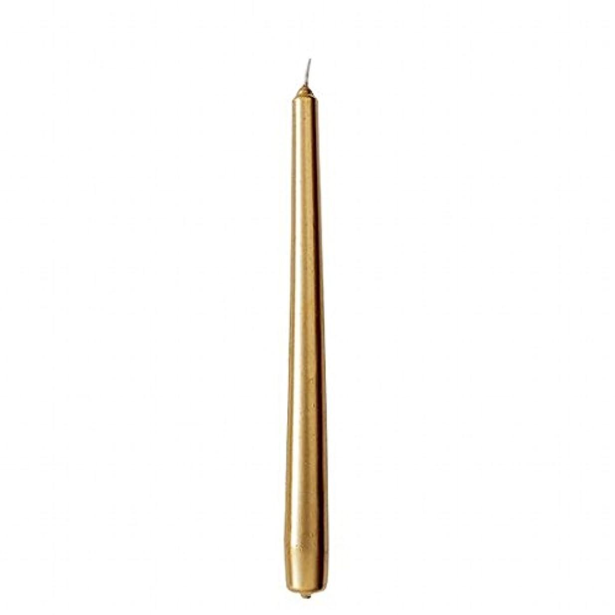 プラスラフレシアアルノルディトリップカメヤマキャンドル(kameyama candle) 10インチテーパー 「 ゴールド 」 12本入り