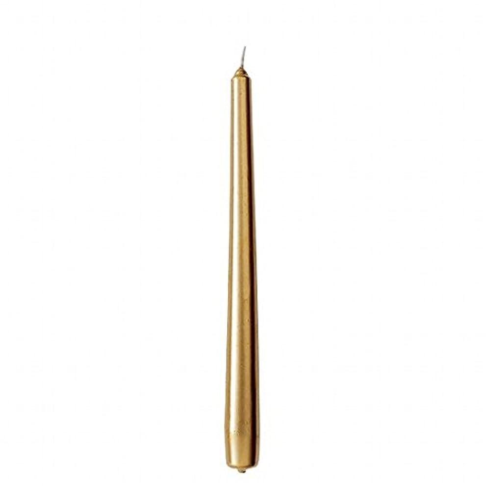 まっすぐ失望させる監督するカメヤマキャンドル(kameyama candle) 10インチテーパー 「 ゴールド 」 12本入り