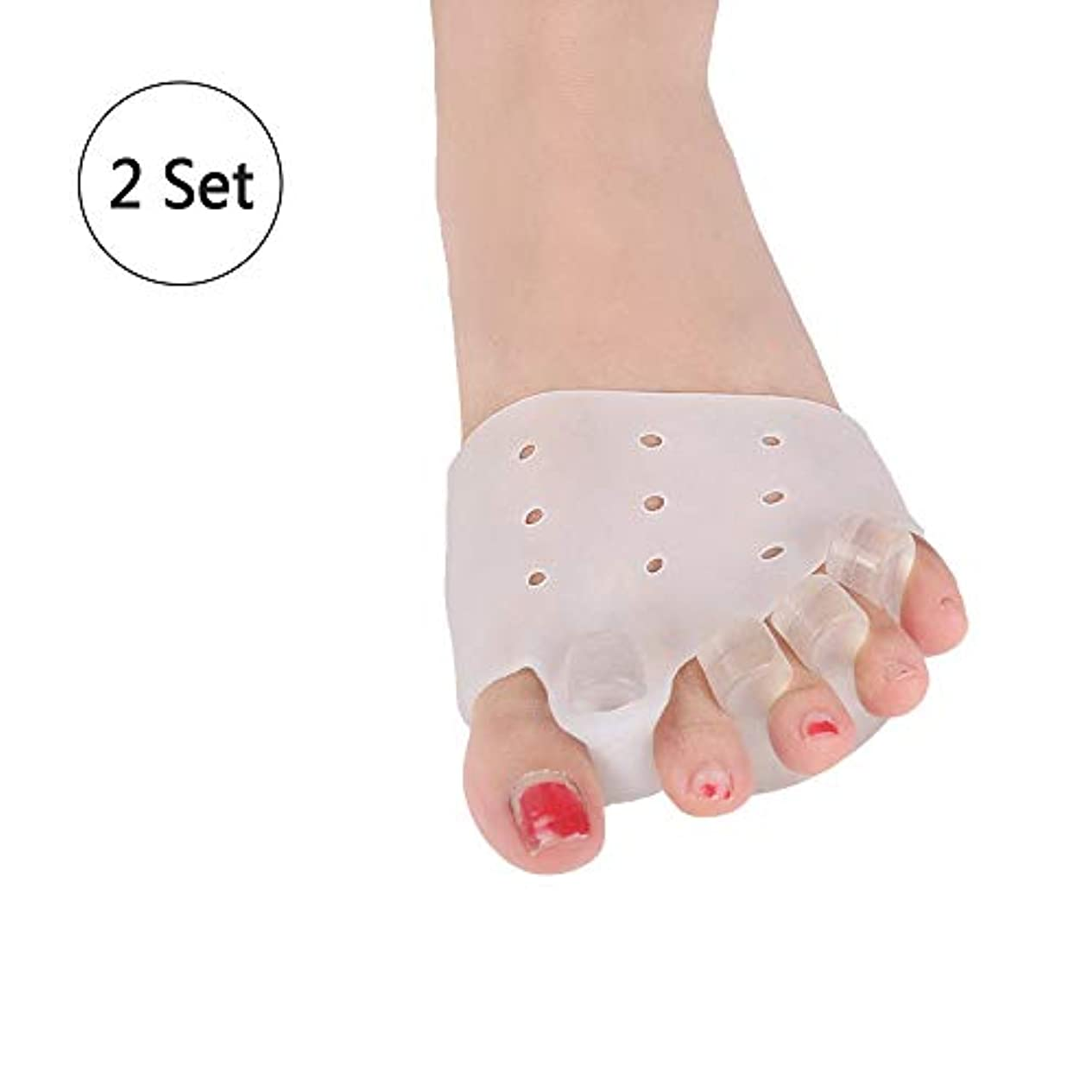 脆い淡い腐ったつま先アライナ、曲げつま先滑液包炎装具矯正用の足指ハンマーつま先矯正用つま先スプリント