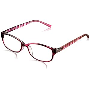 機能老眼鏡 上平累進老眼鏡 IE-003 PUR(パープル) +1.50(05IE03PU-15)