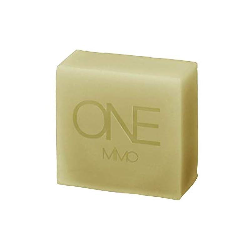 一握り解明する縞模様の【MiMC ONE(エムアイエムシー ワン)】ハーブプロテクトソープ フォーアウトドア/アブサンガード 85g