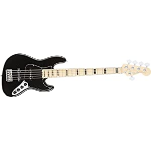 Fender フェンダー エレキベース AM ELITE JAZZ BASS V MN BLK