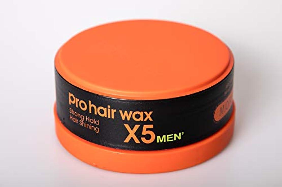 達成するはさみ重くするMorfose プロメンズProhairワックスX5 - ストロング/ 5.1オンス 5.1オンス