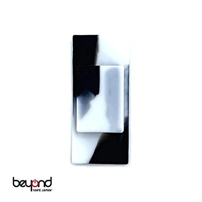 明らかに熟読ソファー【BeyondVapeJapan】 最新 電子タバコ VAPE JUUL JUUL用シリコンホルダー Black/White