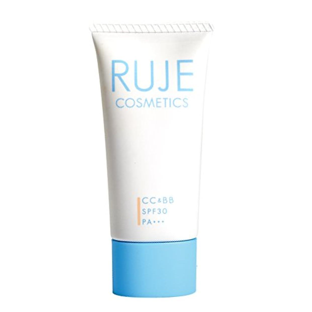 振りかける時代現象RUJE ルジェ CC&BBジェルクリームモイスト ライトカラー 30g