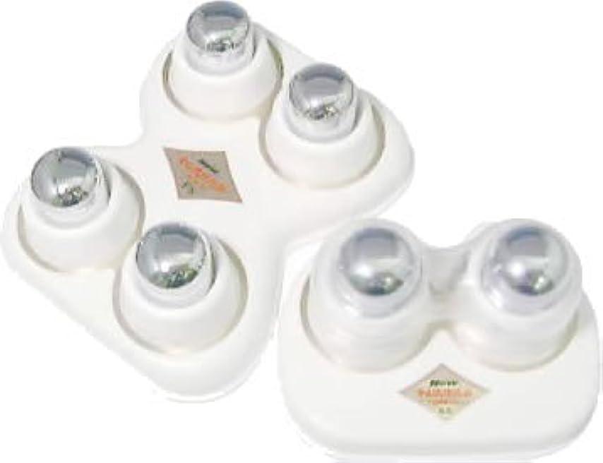 むさぼり食うラフ農民中山式 ニュー快癒器強力型 4球式?2球式セット 白 115100