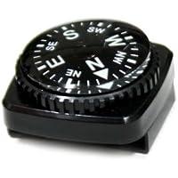 防水型リストコンパスNo.700 黒ボディ(白文字)