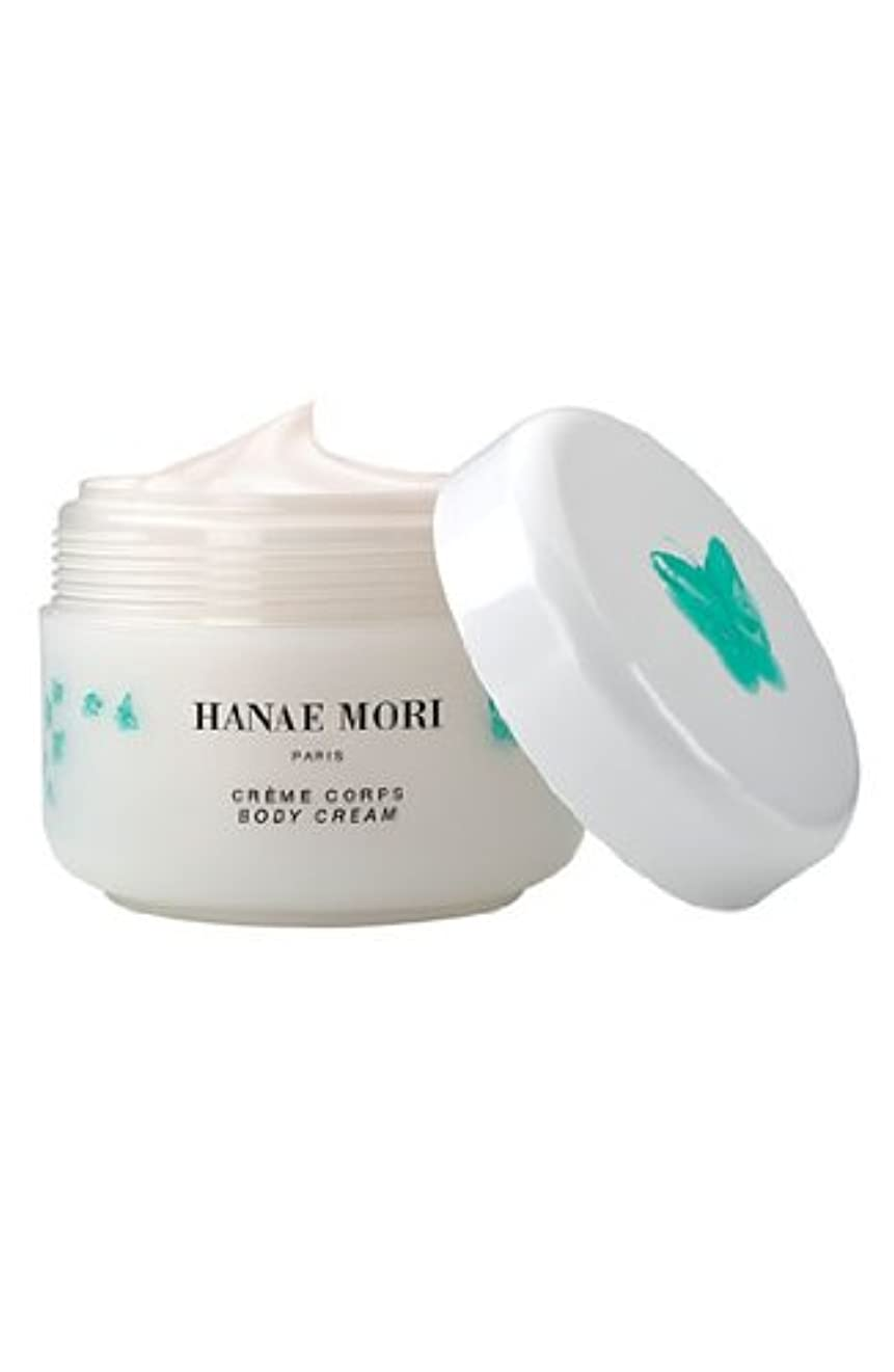 列挙する誘惑伝統Hanae Mori 'Butterfly' (ハナエ モリ バタフライ) 8.4 oz (252ml) Body Cream for Women