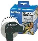 BROTHER QL-550用長尺紙テープ(大) DK-2205