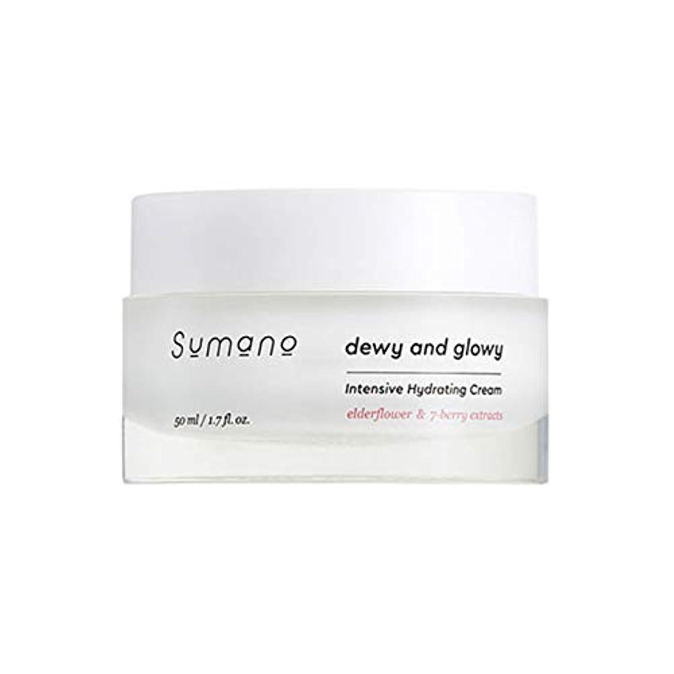 幸運なことにピンチ応用[SUMANO/スマノ] Sumano Intensive Hydrating Cream/インテンシブクリーム Skingarden/スキンガーデン