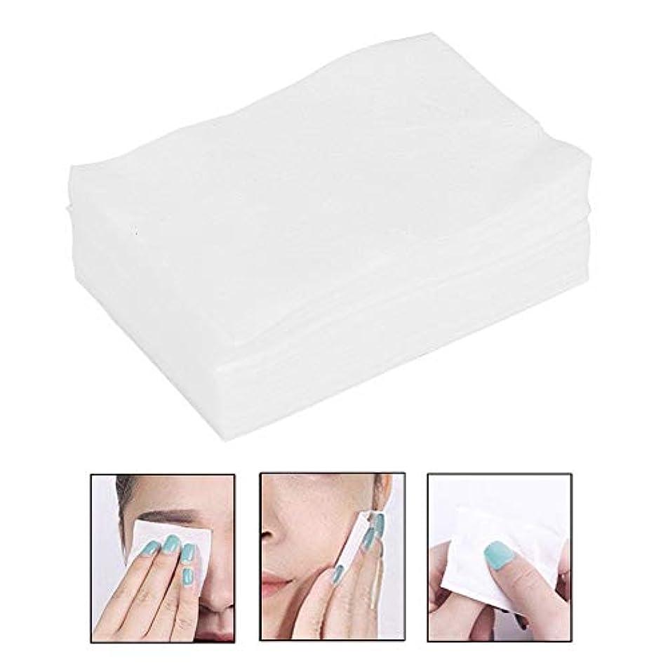 塩辛い固体積分ソフトメイク落し コットンパッド 化粧品ツール スキンケア クリーニング ワイプ
