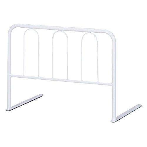 不二貿易 ベッド ガード ハイ タイプ 高さ 45cm ホワイト 10106
