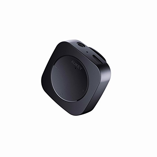 AUKEY Bluetoothレシーバー ブルートゥースオーディオレシーバー 3.5mmミニプラグ接続 クリップ付き 2年間...