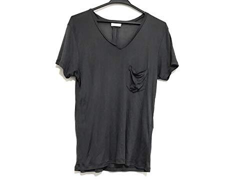 (サンローランパリ)SAINT LAURENT PARIS Tシャツ 半袖Tシャツ レディース ダークグレー 【中古】