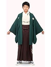 758191820e7e9 Amazon.co.jp  グリーン - 着物・浴衣・甚平   ボーイズ  服 ...