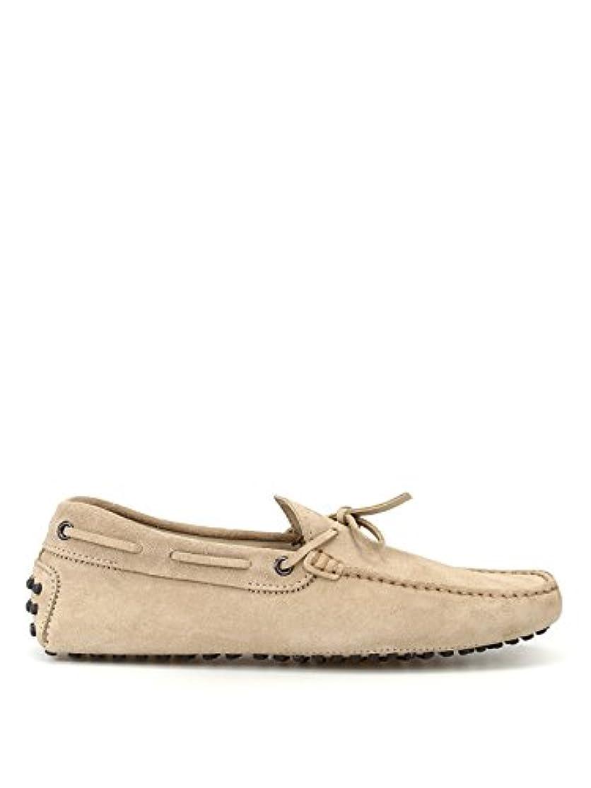 チケット強打挽くTod's メンズ XXM0GW05470RE0C803 ベージュ セーム 布鞋