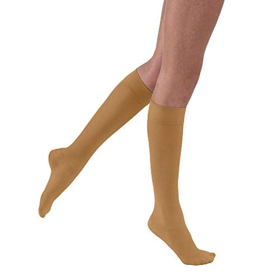 一握りミンチ四面体Jobst 121522 Ultrasheer Knee Highs 20-30 mmHg - Size & Color- Suntan Small