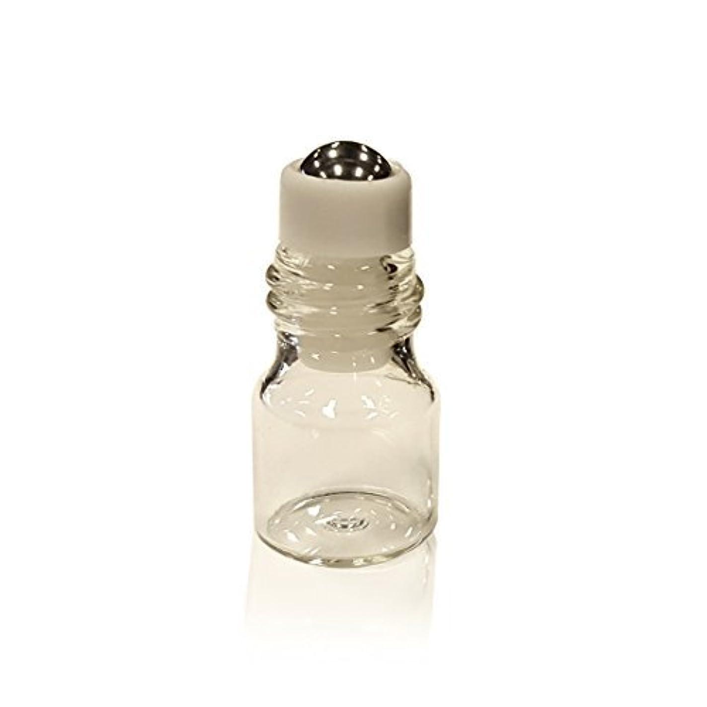 ヒューズパッド肥沃なAlternative Apothecary Pack of 12! Mini Essential Oil Roll On Bottles; 1/4 Dram (1 ml) Glass Roller Bottles with Stainless Steel Metal Ball [並行輸入品]