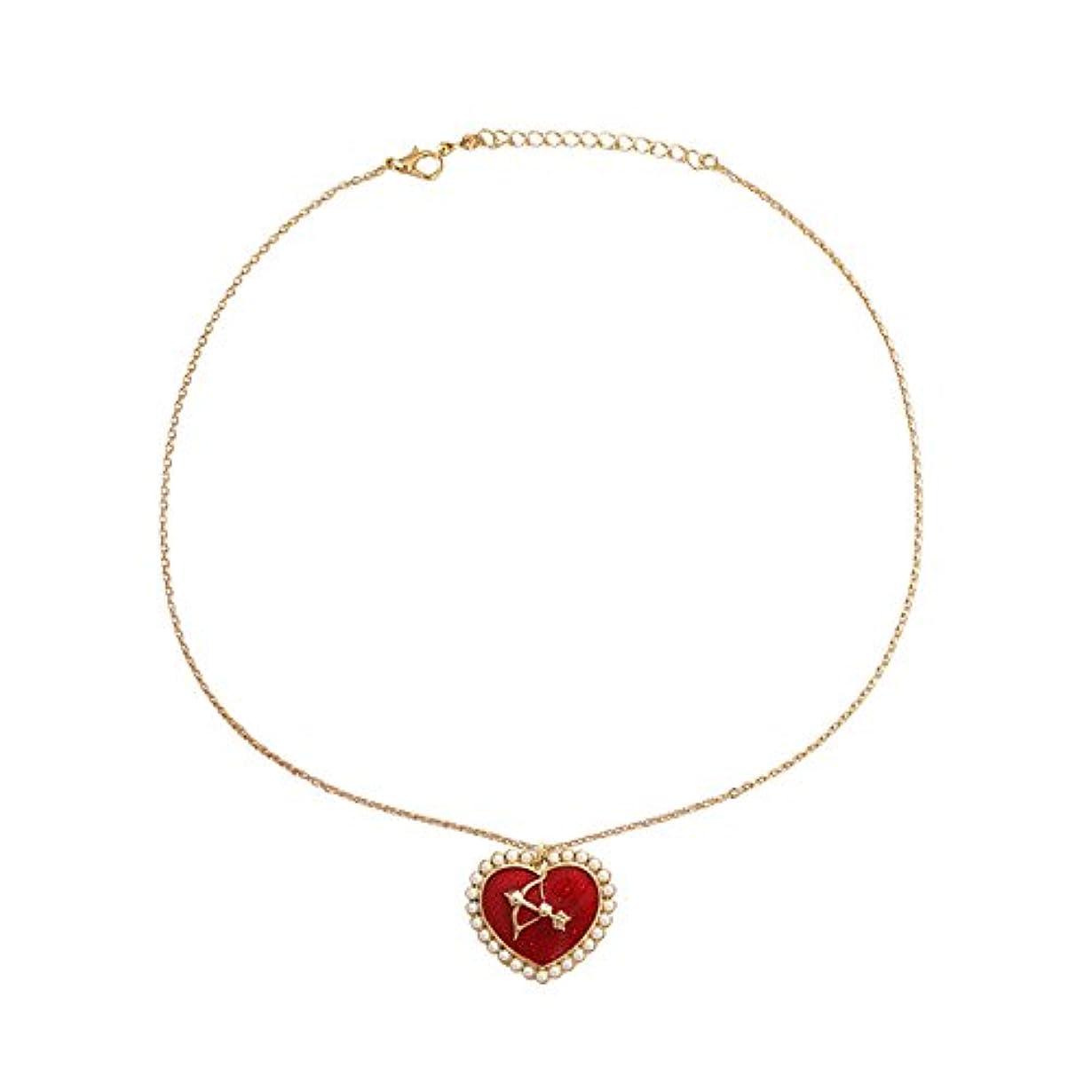 涙が出るアトム文法真珠キューピットネックレス 首のネックレス ハートのネックレス バレンタインデーのプレゼント