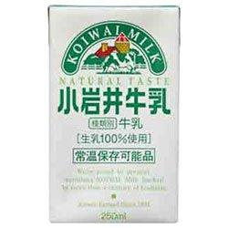 小岩井乳業 小岩井牛乳250ml紙パック×24本入×(2ケース)
