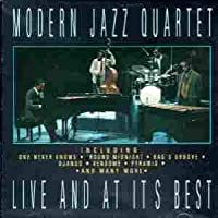 MODERN JAZZ QUARTET LIVE AND AT ITS BEST