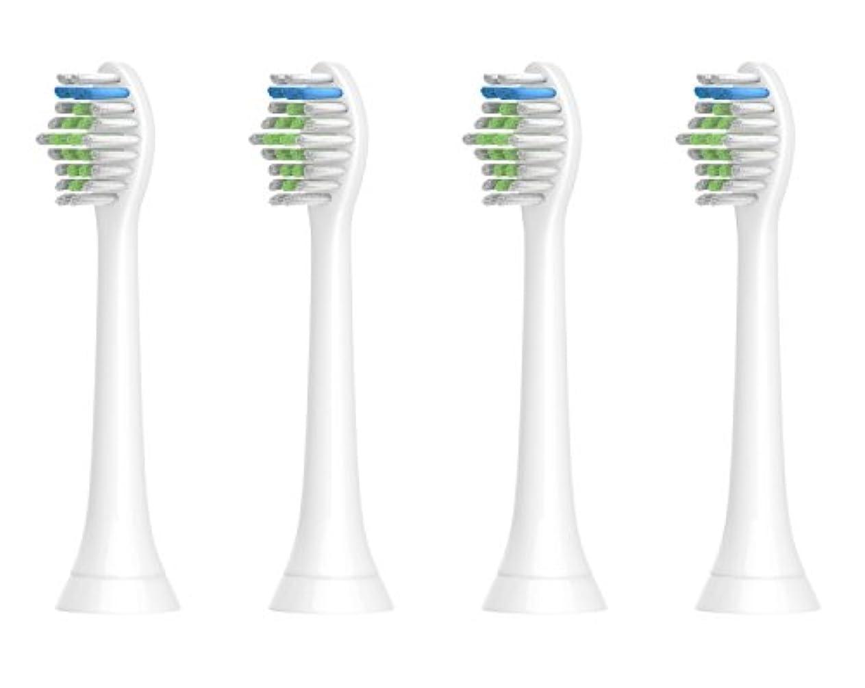 ジョージスティーブンソン橋回想互換 ソニマート 互換ブラシ フィリップス ソニッケアー 電動歯ブラシ 替ブラシ 対応 ダイヤモンドクリーン イージークリーン プロテクティブクリーン など互換性とミニ 4本