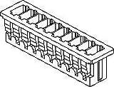 Molex 基板用コネクタハウジング メス 4極 1列 1.25mm 51021-0400