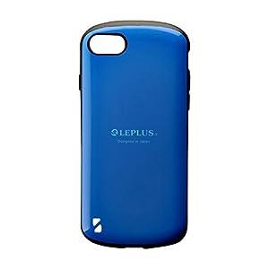 iPhone 8/7 耐衝撃ハイブリッドケース「PALLET」 ブルー LP-MI7SHVCBL