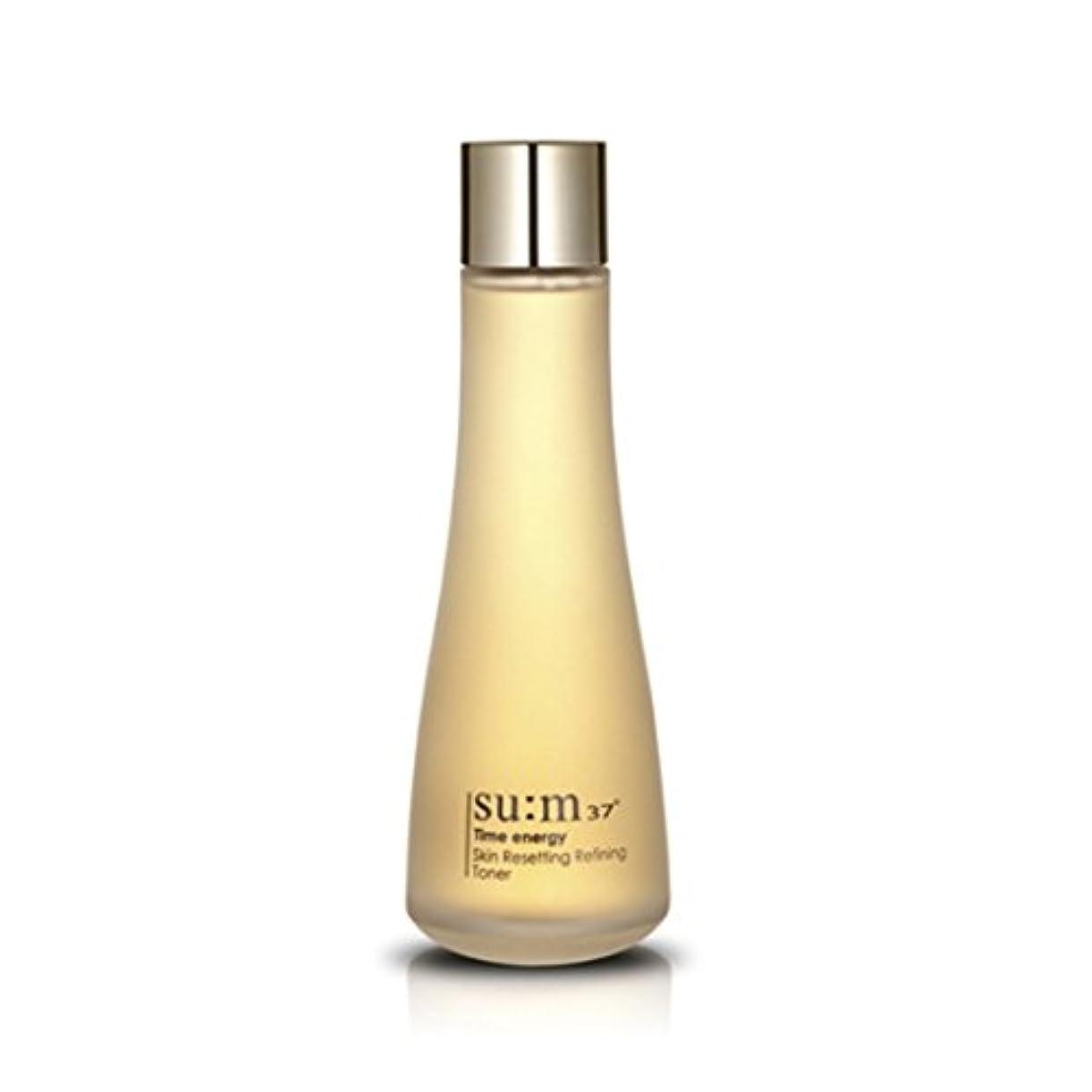 純粋に選択バレルsu:m37/スム37° スム37 タイムエナジーリファイティングトナー160ml (sum 37º Time energy Skin Resetting Refining Toner 160ml + Special Gift...