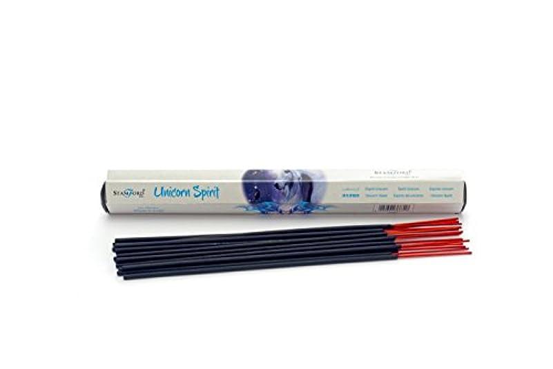 空気再編成する被るAnne Stokes Glimpse Unicorn Incense Sticks - Sandalwood