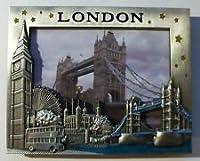 ロンドンお土産3dフォトフレーム/タワーブリッジ&有名なアイコンフォトフレーム/ I Loveロンドンお土産フォトフレーム