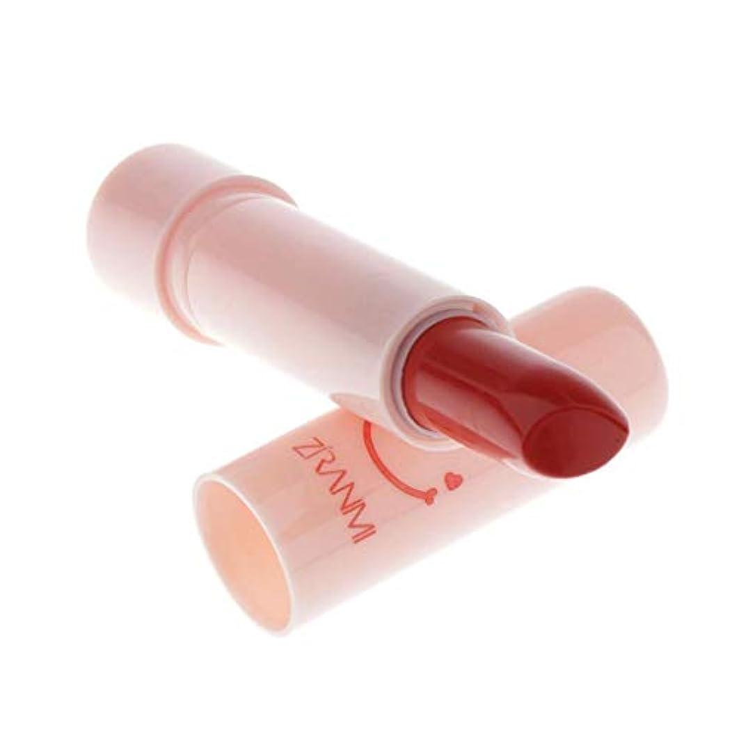 音怪物受粉者DYNWAVE 長続きがするマットの口紅の化粧品の保湿の滑らかな口紅 - オレンジ, 7×2cm