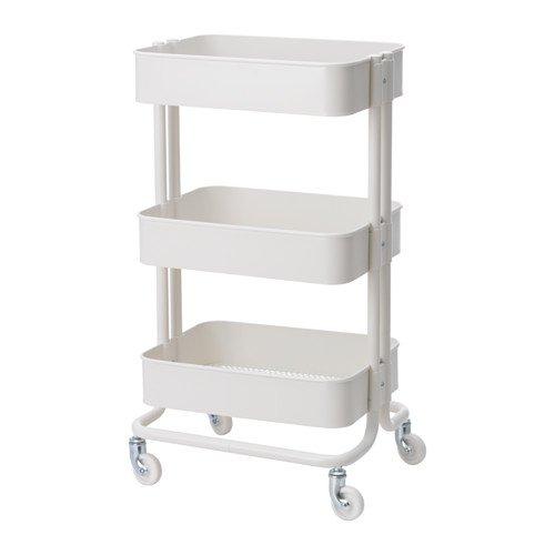 IKEA「RASKOGキッチンワゴンホワイト」