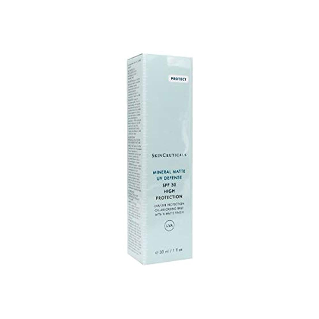 破裂入射楽しませるSkinceuticals Mineral Matte Uv Defense Spf30 30ml [並行輸入品]