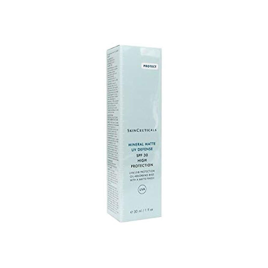 咽頭ボイドテンポSkinceuticals Mineral Matte Uv Defense Spf30 30ml [並行輸入品]