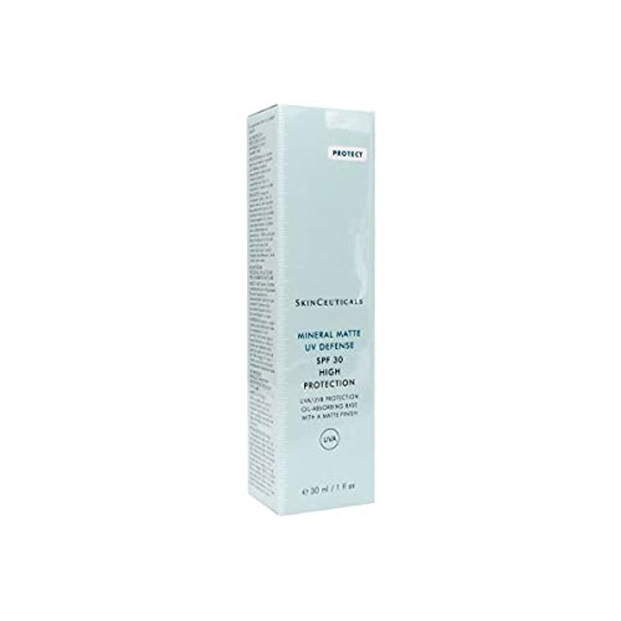 中間考慮密Skinceuticals Mineral Matte Uv Defense Spf30 30ml [並行輸入品]