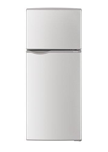シャープ 冷蔵庫 118L(幅48cm) 右開き ライトシルバー SJ-HA12D-S