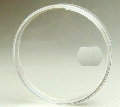 [해외]스위스 파빌리온 롤렉스 용 아크릴 바람막이 [유리] 117 Ref.1500 등 용 (Cal.1560 ~ 1570)/Swiss pavilion Acrylic draft shield for ROLEX [glass] 117 For Ref. 1500 etc. (Cal. 1560 to 1570)