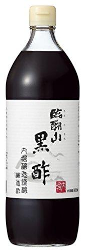 内堀醸造 臨醐山黒酢 瓶900ml
