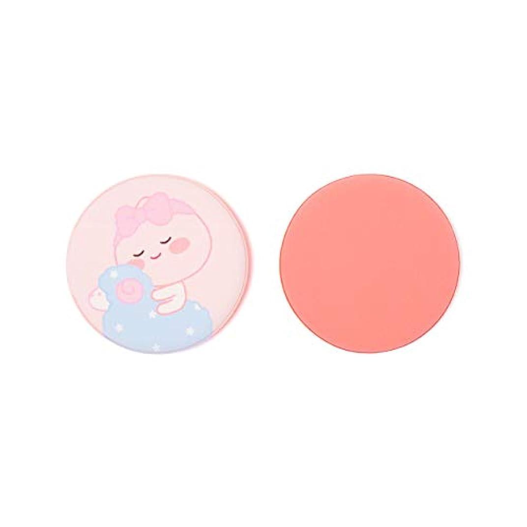 めまいフルーツ野菜進化[オフィシャル] カカオフレンズ - エアクッションンパフ2P KAKAO FRIENDS - Lovely Apeach Air Cushion Puff 2P (Pink)