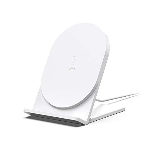 【Amazon.co.jp 限定】Belkin BOOST CHARGE ワイヤレス充電スタンド(Qi認証/5W・ホワイト、micro-USBケーブル付属) [国内正規品] F7U070BTWHT-A