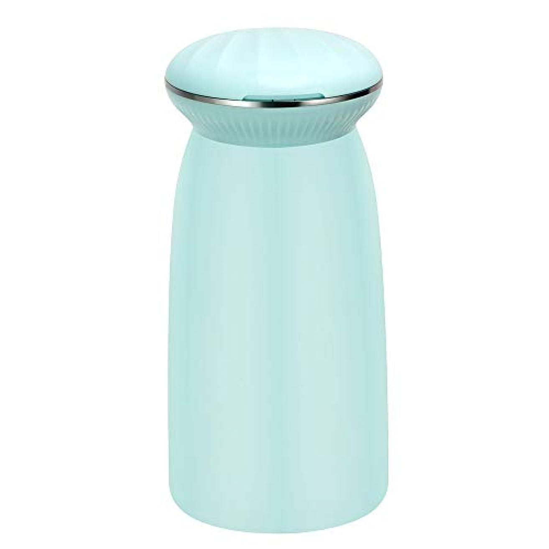 グレートバリアリーフ弱い衣服涼しい空気加湿器 - 300ミリリットルスパミストメーカー水フレッシュエアーマシンポータブル超音波加湿器,Blue
