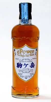 駒ケ岳 ePower SingleCask No.1704 700ml 59.6%